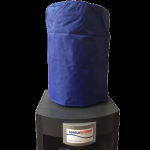 """alt=""""water-bottle-blue-nylon-pvc-cover"""""""