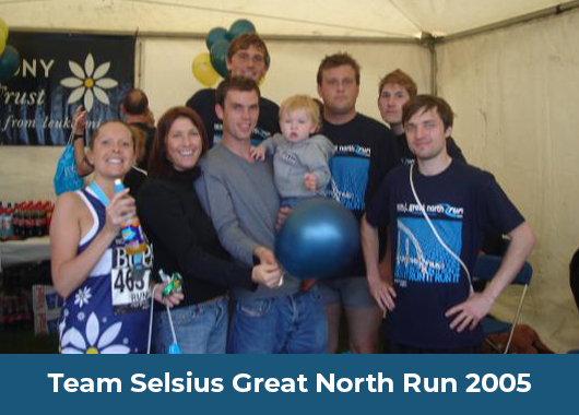 Team Selsius Great North Run