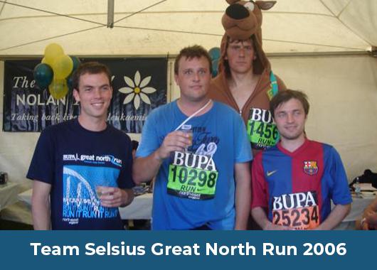 Team Selsius Great North Run 2006