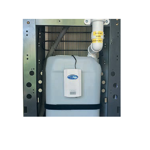 """alt=""""10-litre-overflow-waste-system with white pipe"""""""